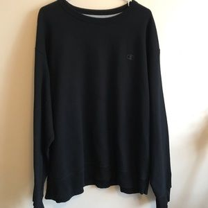 Champion Black Sweatshirt